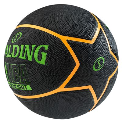 Spalding NBA Highlight Outdoor Basketball - Black and Green