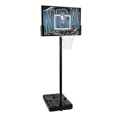 Spalding NBA Logo Composite Portable Basketball System