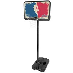 Spalding NBA Logoman Portable Basketball System