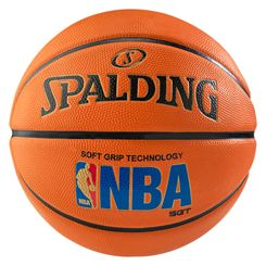 Spalding NBA Logoman Sponge Rubber Outdoor Basketball