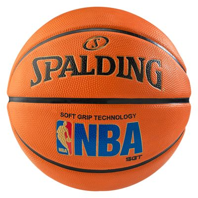 Spalding NBA Logoman Sponge Rubber Outdoor Basketball - Size 7
