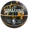 Spalding NBA Marble Outdoor Basketball - Black