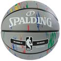 Spalding NBA Marble Outdoor Basketball - GreySpalding NBA Marble Outdoor Basketball - Grey