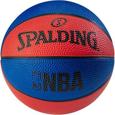 Spalding NBA Miniball Basketball - Red/Blue