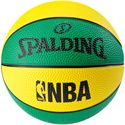 Spalding NBA Miniball Basketball - Yellow/Green