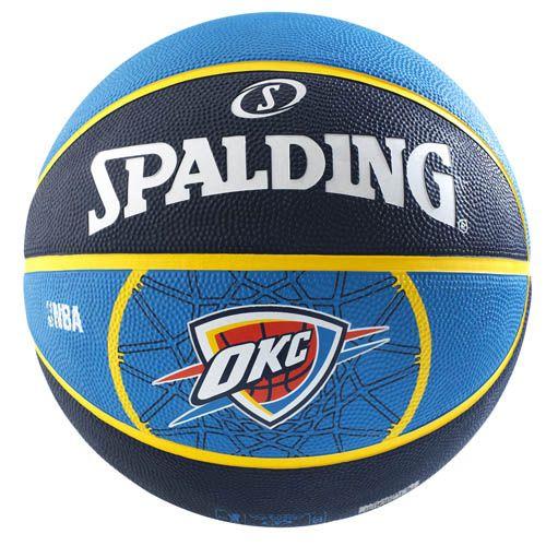 Spalding Nba Oklahoma City Thunder Basketball Sweatband Com