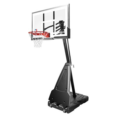 Spalding NBA Platinum Helix Lift Portable Basketball System