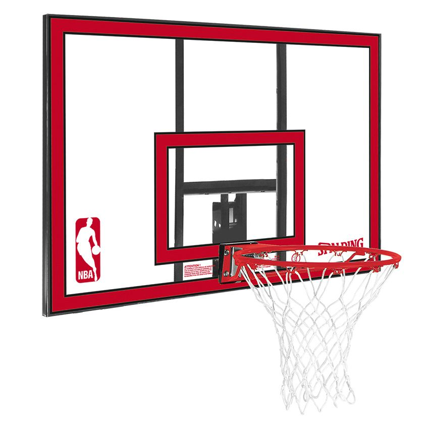 spalding nba polycarbonate backboard and rim combo. Black Bedroom Furniture Sets. Home Design Ideas