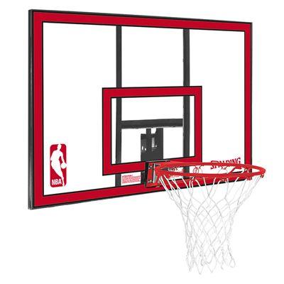 Spalding NBA Polycarbonate Backboard and Rim Combo