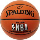 Spalding NBA Silver Indoor/Outdoor Basketball