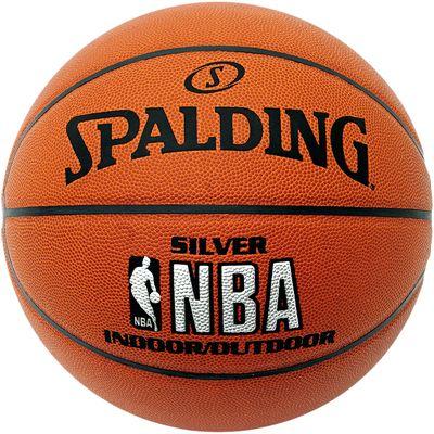 Spalding NBA Silver Indoor-Outdoor Basketball