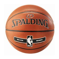 Spalding NBA Silver Indoor/Outdoor Basketball (core)