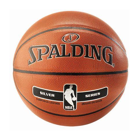 Spalding NBA Silver Indoor/Outdoor Basketball (core)