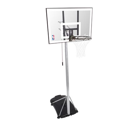 Spalding NBA Silver Portable Basketball System