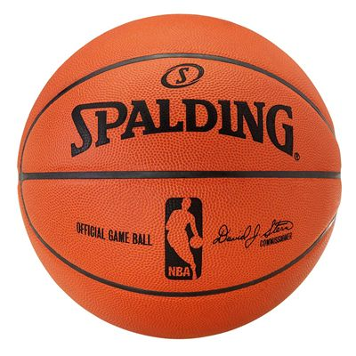 Spalding Official NBA  Game Basketball