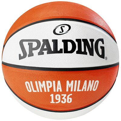 Spalding Olimpia Milano Euroleague Team Basketball