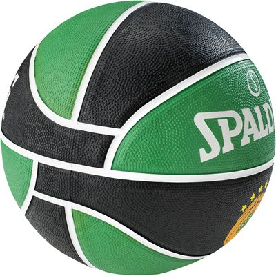 Spalding Panathinaikos Euroleague Team Basketball - side view