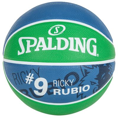 Spalding Ricky Rubio Basketball - Back