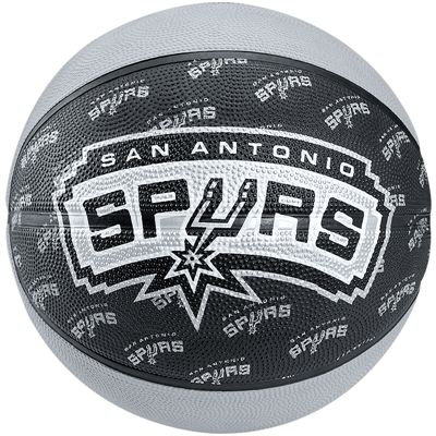 Spalding San Antonio Spurs Team Basketball - Size 7