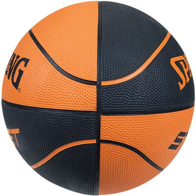 Spalding Street Soft Touch Rubber Basketball Side View