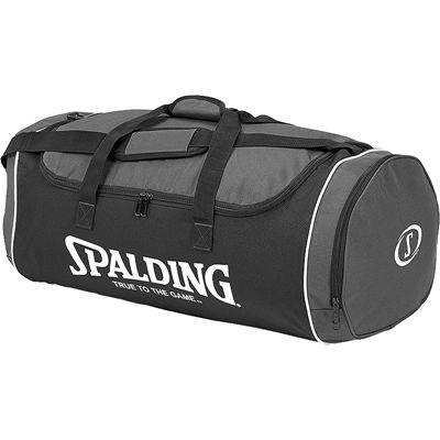 Spalding Tube Large Sport Bag - Black-Anthracite-White