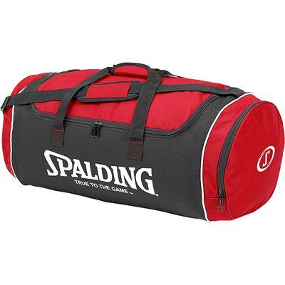 Spalding Tube Large Sport Bag - Red-Black-White
