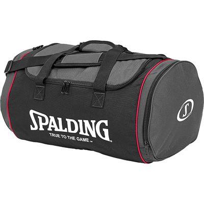 Spalding Tube Medium Sport Bag - Black-Anthracite-Pink