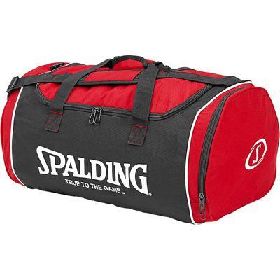 Spalding Tube Medium Sport Bag - Red-Black-White