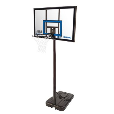 SpaldingNBA Highlight Acrylic Portable Basketball System