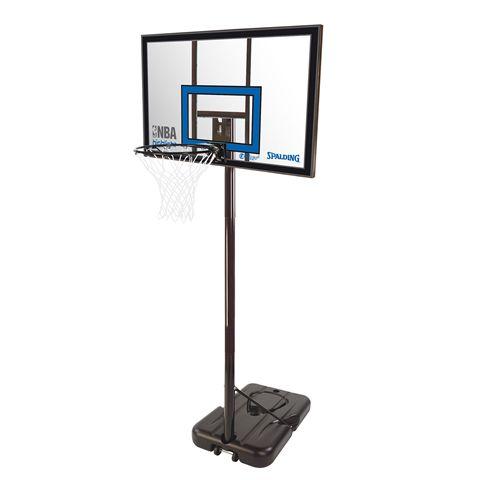 Spalding NBA Highlight Acrylic Portable Basketball System