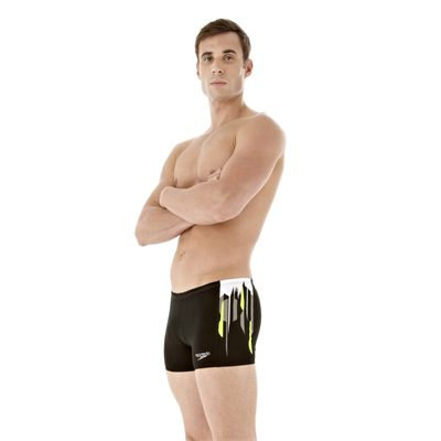 DivePower Placement Mens Black Hydro Green Angle