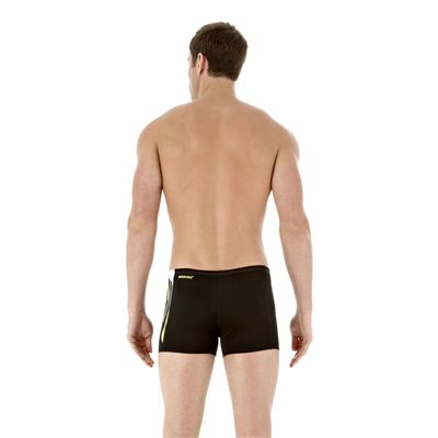 DivePower Placement Mens Black Hydro Green Back