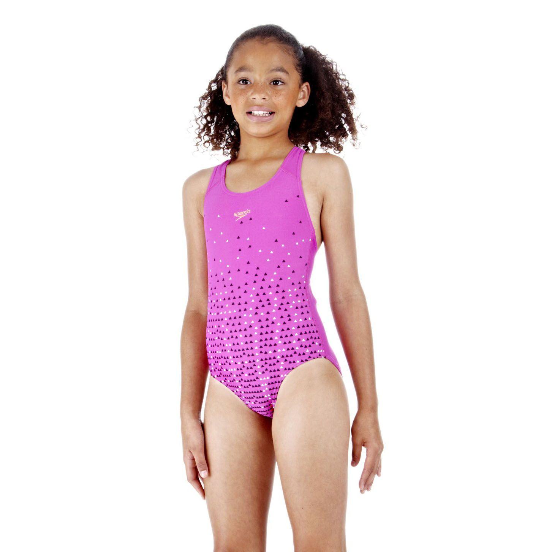 Speedo Speedfast Splashback Girls Swimsuit