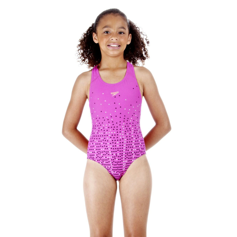 Speedo Speedfast Splashback Girls Swimsuit Sweatband Com