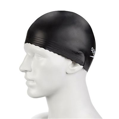 Speedo Adult Latex Cap Black