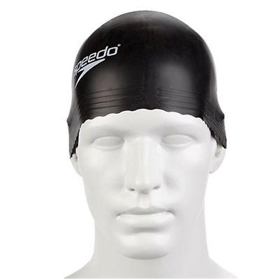 Speedo Adult Latex Cap Black