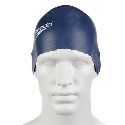 Speedo Adult Latex Cap Navy