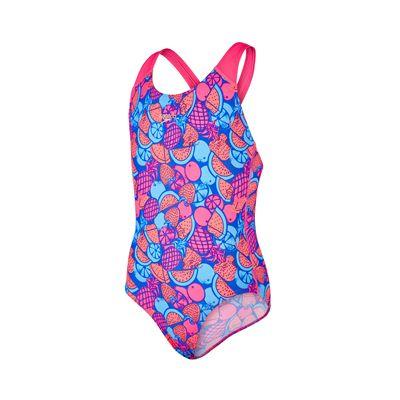Speedo Allover Splashback Girls Swimsuit-main