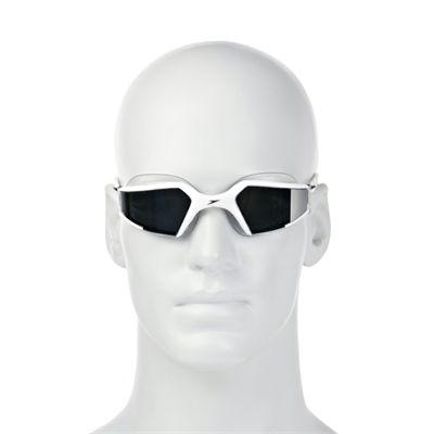 Speedo Aquapulse Max Mirror Goggle - Whits/Silver
