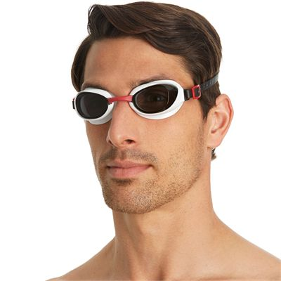 Speedo Aquapure Goggle red smoke - first