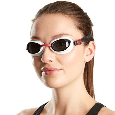 Speedo Aquapure Goggle red smoke - secondary