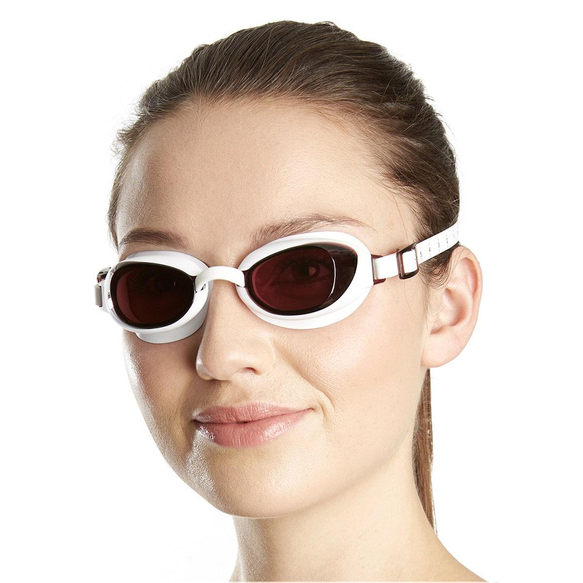 Swimming Accessories Speedo Aquapure Ladies Goggle - Brown