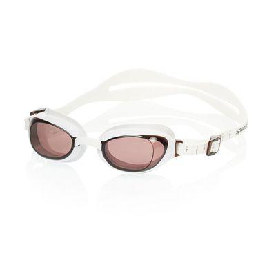 Speedo Aquapure Ladies Goggle white brown - secondary