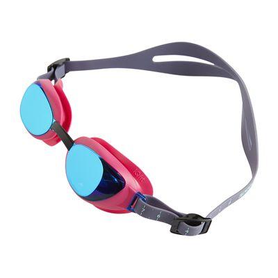 Speedo Aquapure Mirror Female Swimming Goggles - Angled