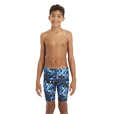 Speedo ArrowJet Allover Boys Jammer - Front View