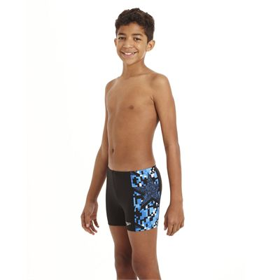 Speedo ArrowJet Allover Panel Boys Aquashort