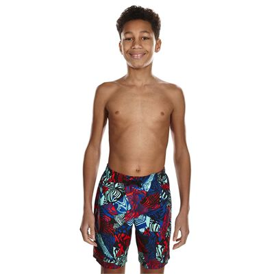 Speedo Astro Ignite Printed Leisure 17 Inch Boys Watershorts - Front