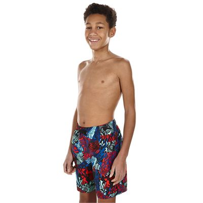 Speedo Astro Ignite Printed Leisure 17 Inch Boys Watershorts - Side