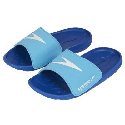 Speedo Atami Core Slide Girls Pool Sandals - Blue