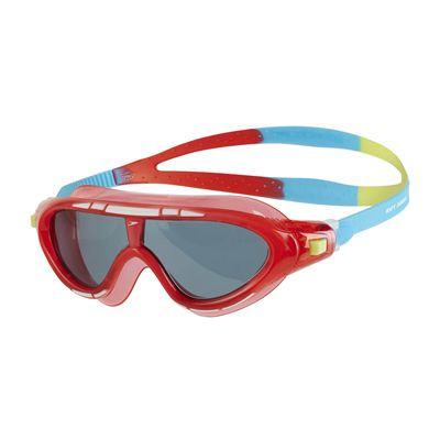 Speedo Biofuse Rift Junior Swimming Goggles - Red/Blue